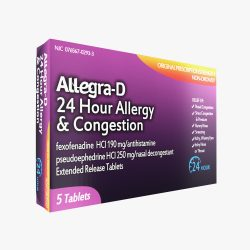 allegra allergy drug 3d model max fbx ma mb obj 298096
