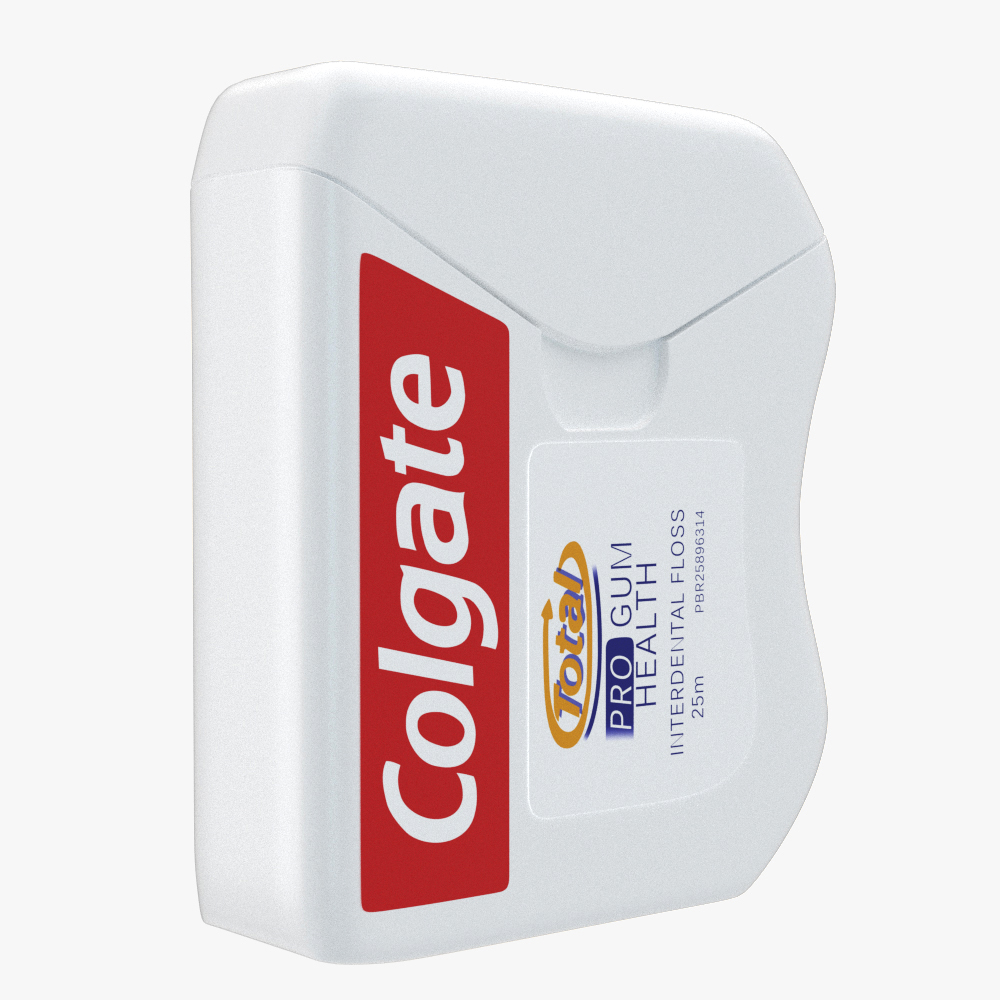 colgate dental floss 3d model max fbx ma mb obj 298153