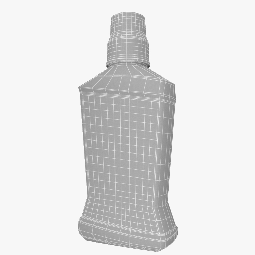colgate mouthwash bottle 3d model max fbx ma mb obj 298165