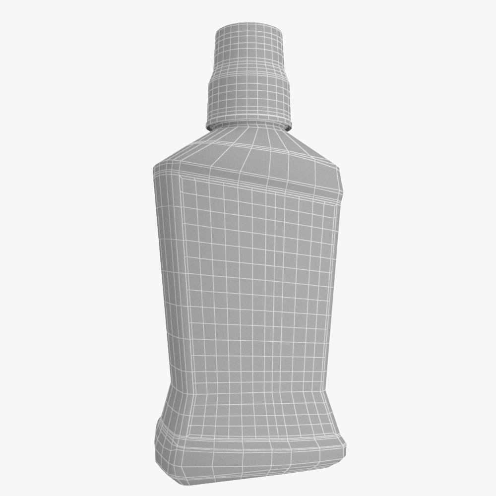 colgate mouthwash bottle 3d model max fbx ma mb obj 298169