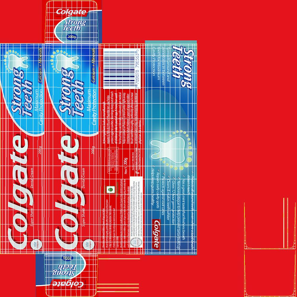 colgate toothpaste package 3d model max fbx ma mb obj 298180