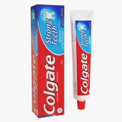 Colgate toothpaste package 3d model max fbx ma mb obj 298181