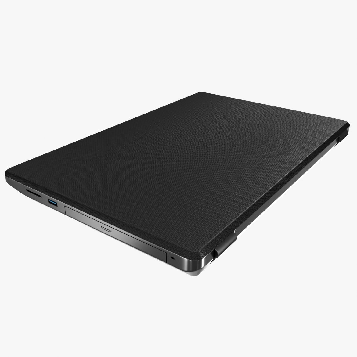 generic notebook laptop 3d model max fbx ma mb obj 298280