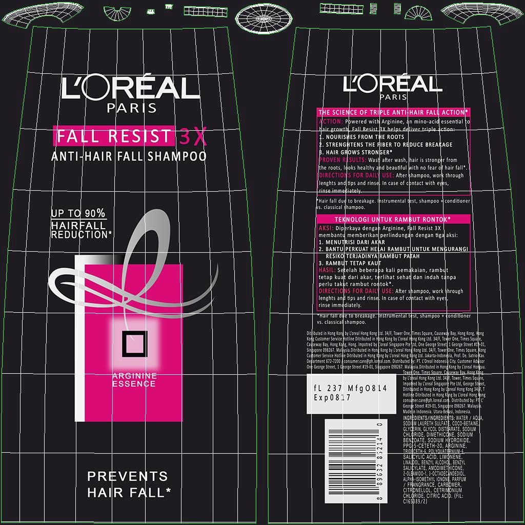 loreal shampoo bottle 3d model max fbx ma mb obj 298400