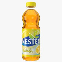 nestea drink plastic bottle 3d model max fbx ma mb obj 298428
