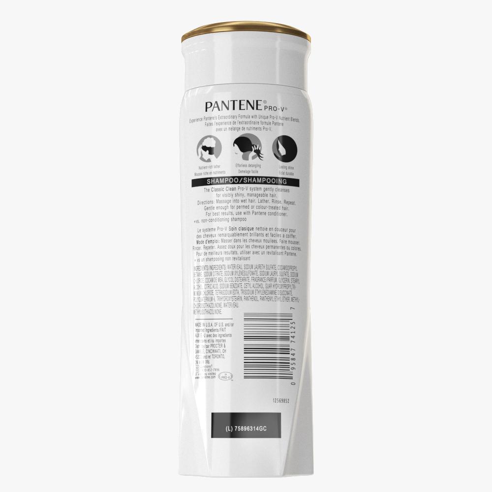 pantene shampoo bottle 3d model max fbx ma mb obj 298453