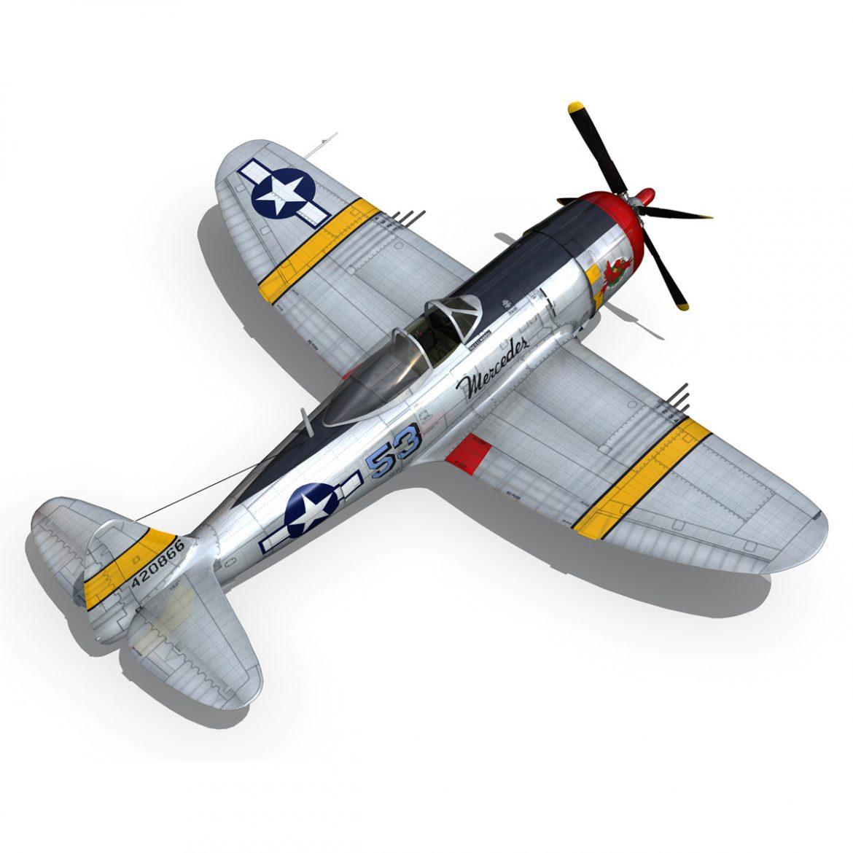 republic p-47d thunderbolt – schmaltzie 3d model fbx c4d lwo obj 298572