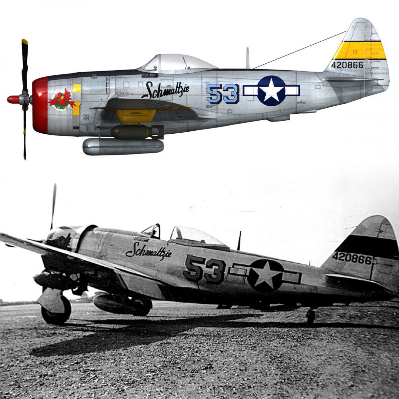 republic p-47d thunderbolt – schmaltzie 3d model fbx c4d lwo obj 298578