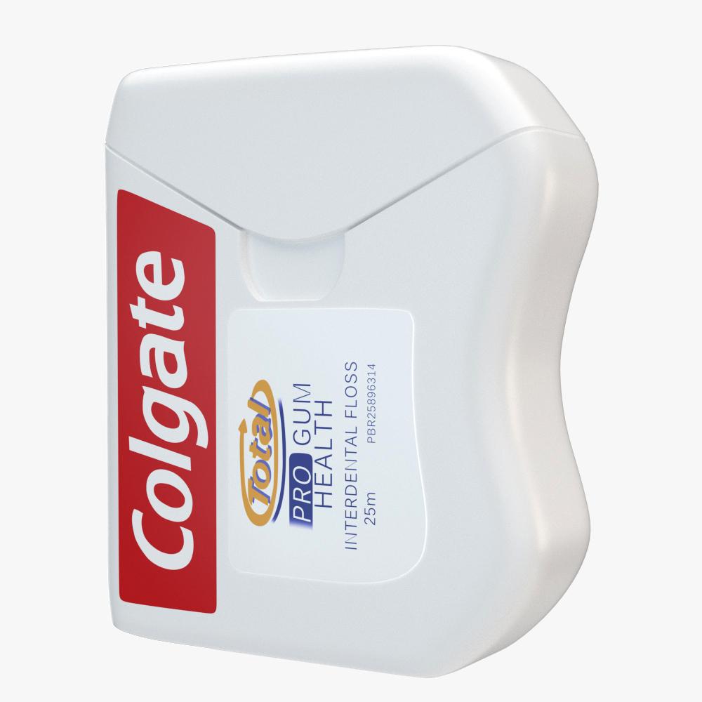 oral hygiene collection 3d model max fbx ma mb obj 298685