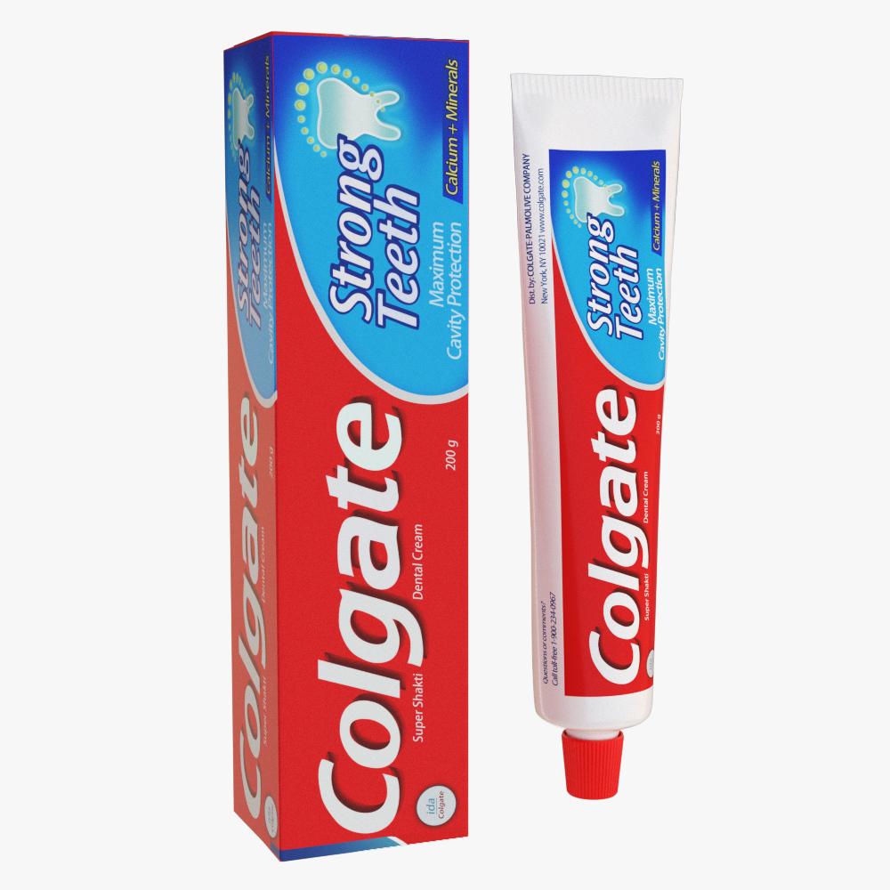 oral hygiene collection 3d model max fbx ma mb obj 298694