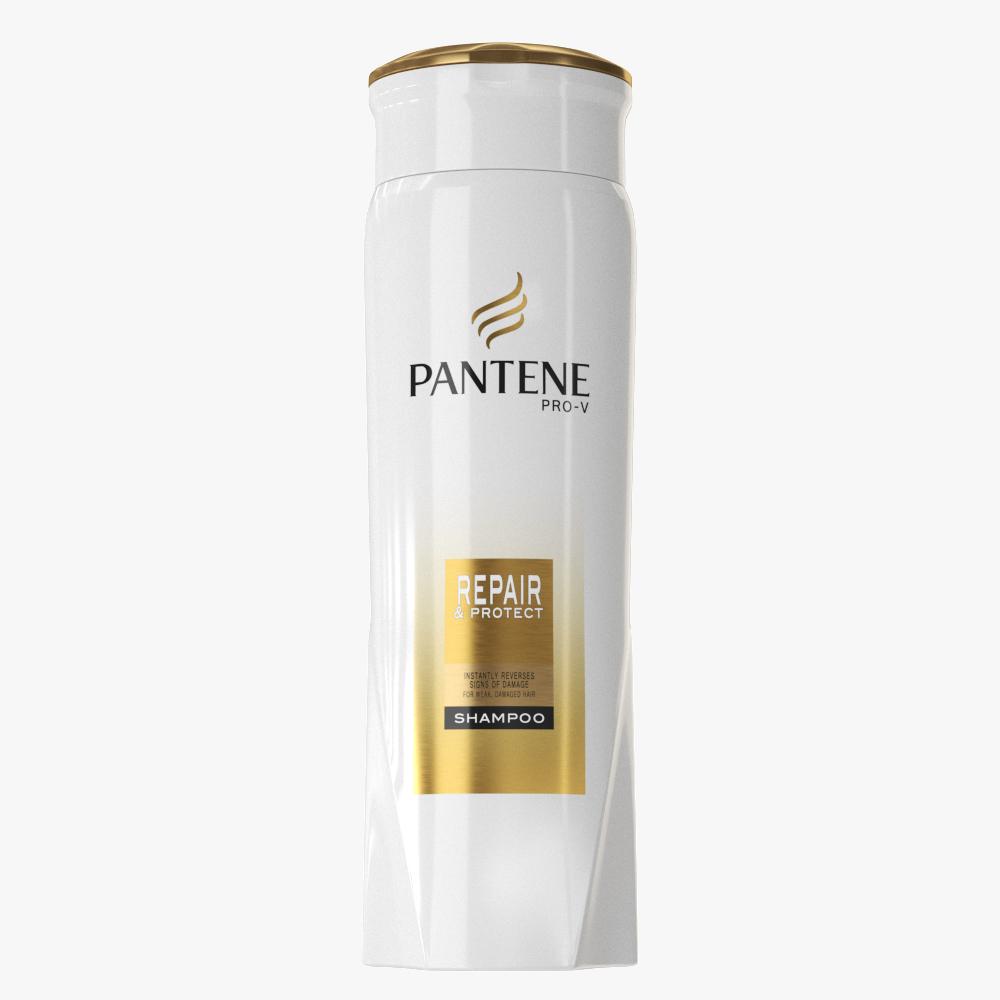 shampoo collection 3d model max fbx ma mb obj 298725