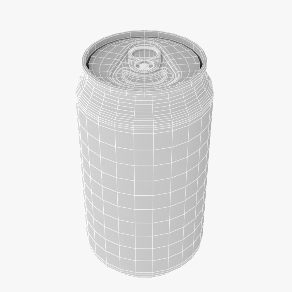 soft drink can collection 3d model max fbx ma mb obj 298802