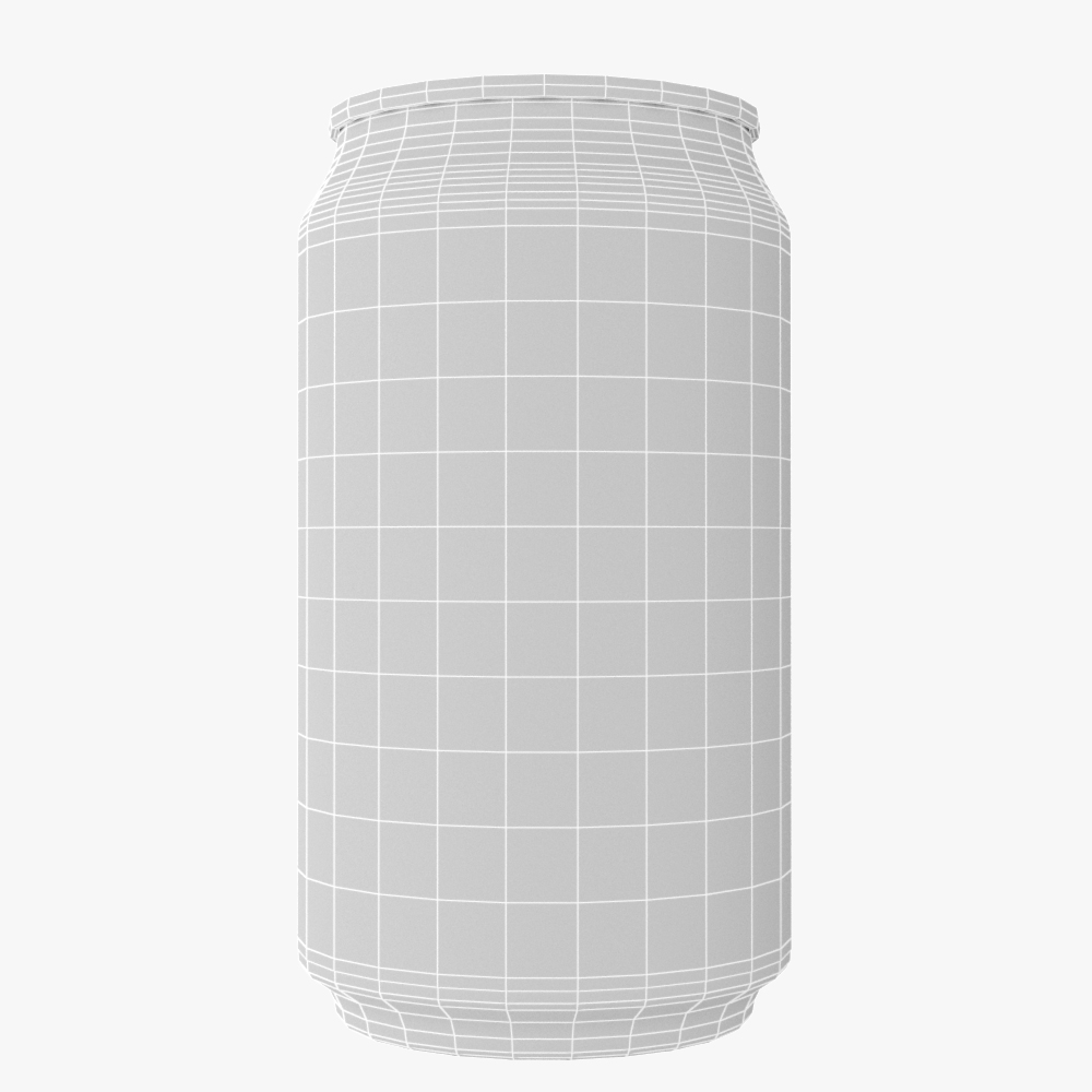 soft drink can collection 3d model max fbx ma mb obj 298803