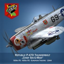 republic p-47d thunderbolt – ski-u-mah 3d model fbx c4d lwo obj 298916