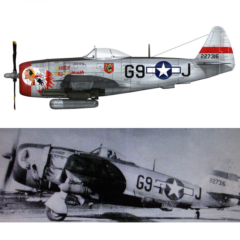 republic p-47d thunderbolt – ski-u-mah 3d model fbx c4d lwo obj 298934