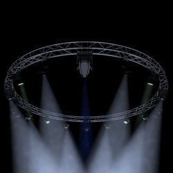 circle square truss 700cm-stage lights 3d model 3ds max fbx c4d dae  obj other 298986