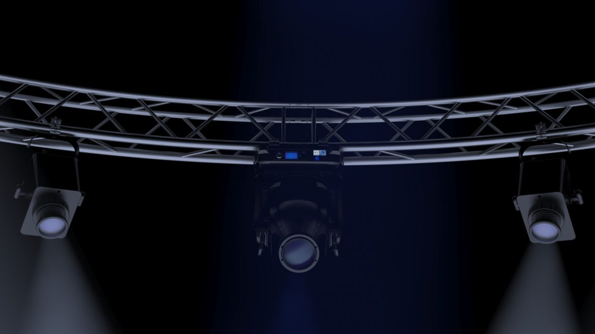 circle square truss 700cm-stage lights 3d model 3ds max fbx c4d dae  obj other 298994