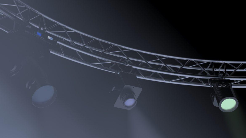 circle square truss 700cm-stage lights 3d model 3ds max fbx c4d dae  obj other 298996