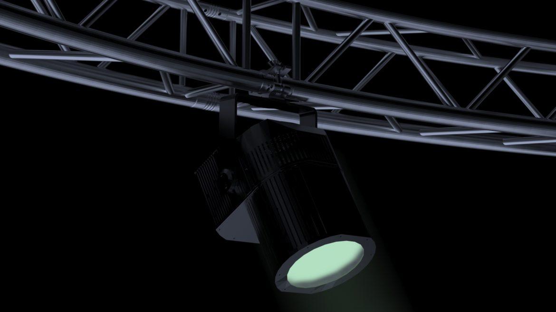 circle square truss 700cm-stage lights 3d model 3ds max fbx c4d dae  obj other 299002