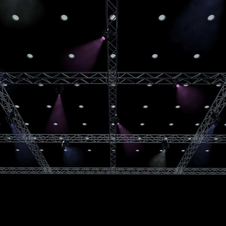big square truss-stage lights 3d model 3ds max fbx dae  obj other 299028