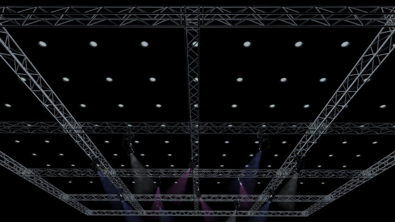 big square truss-stage lights 3d model 3ds max fbx dae  obj other 299029