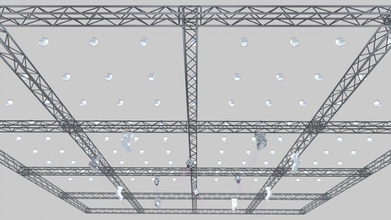 big square truss-stage lights 3d model 3ds max fbx dae  obj other 299030