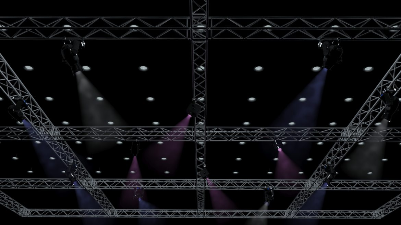big square truss-stage lights 3d model 3ds max fbx dae  obj other 299031