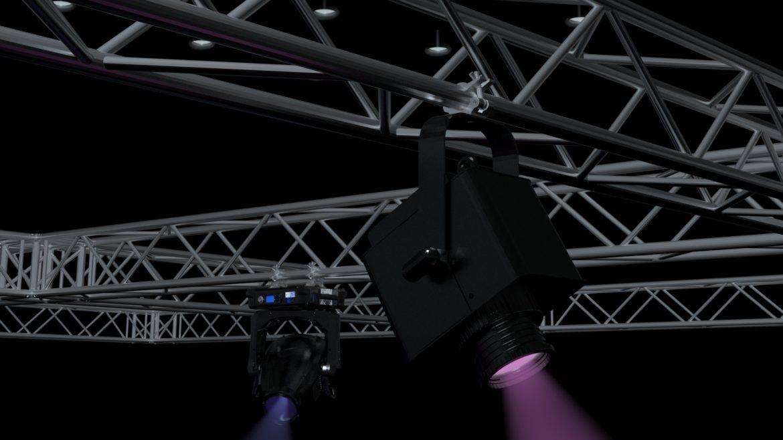 big square truss-stage lights 3d model 3ds max fbx dae  obj other 299042