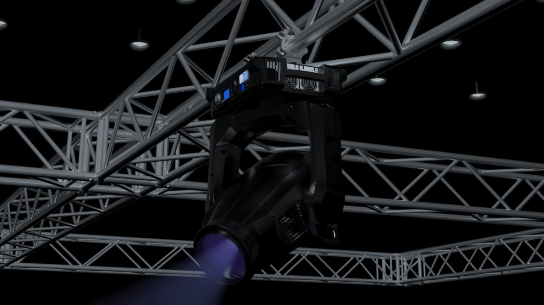 big square truss-stage lights 3d model 3ds max fbx dae  obj other 299044
