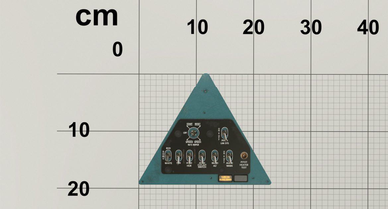 mi-8mt mi-17mt left triangular board english 3d model 3ds max fbx obj 299308