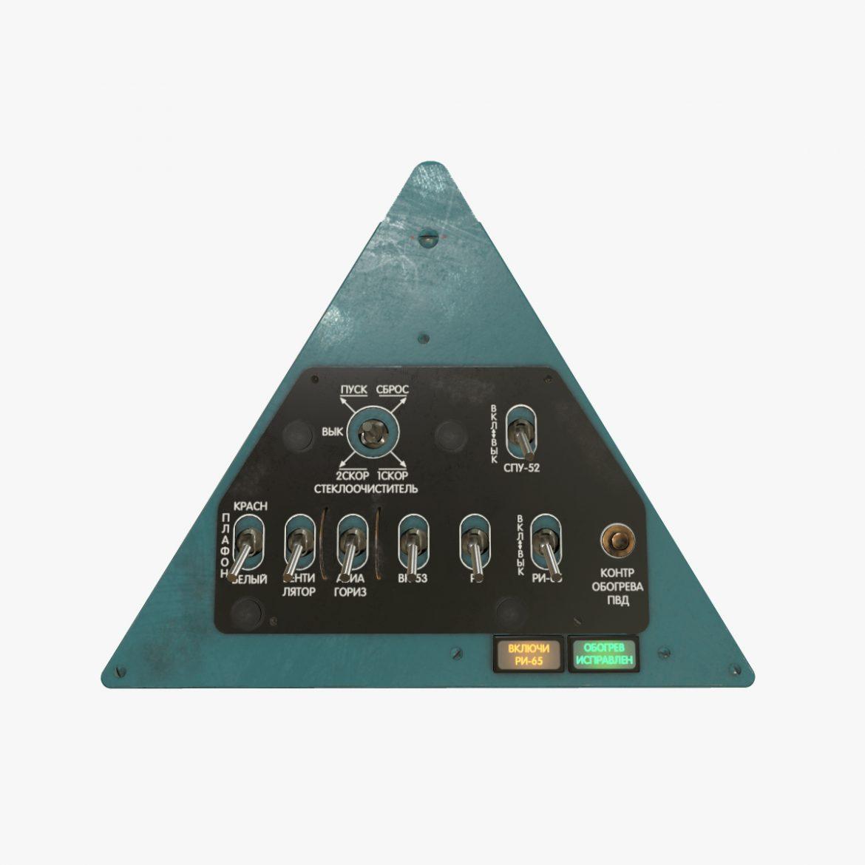 mi-8mt mi-17mt left triangular board russian 3d model 3ds max fbx obj 299341
