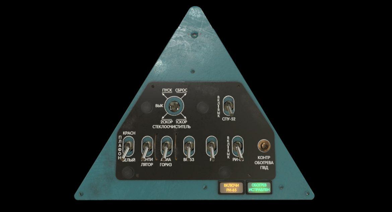 mi-8mt mi-17mt left triangular board russian 3d model 3ds max fbx obj 299342