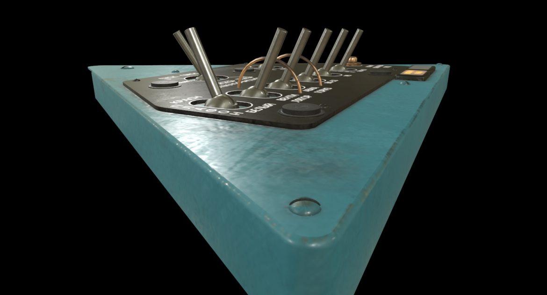 mi-8mt mi-17mt left triangular board russian 3d model 3ds max fbx obj 299348