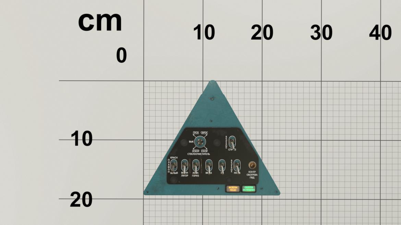 mi-8mt mi-17mt left triangular board russian 3d model 3ds max fbx obj 299351