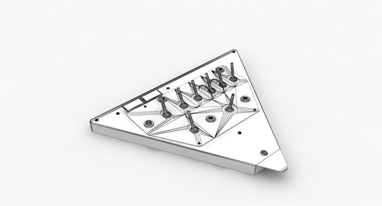 mi-8mt mi-17mt left triangular board russian 3d model 3ds max fbx obj 299354