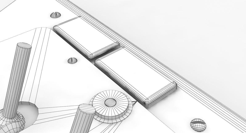 mi-8mt mi-17mt left triangular board russian 3d model 3ds max fbx obj 299361