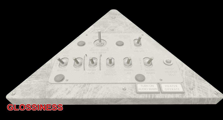 mi-8mt mi-17mt left triangular board russian 3d model 3ds max fbx obj 299364