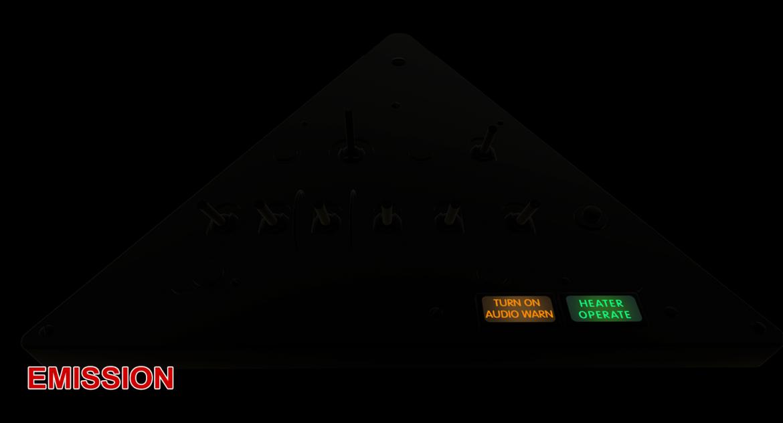 mi-8mt mi-17mt left triangular board russian 3d model 3ds max fbx obj 299370