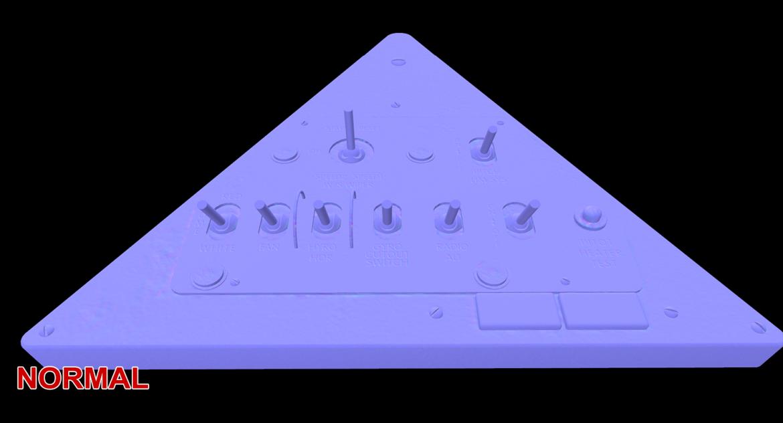 mi-8mt mi-17mt left triangular board russian 3d model 3ds max fbx obj 299371