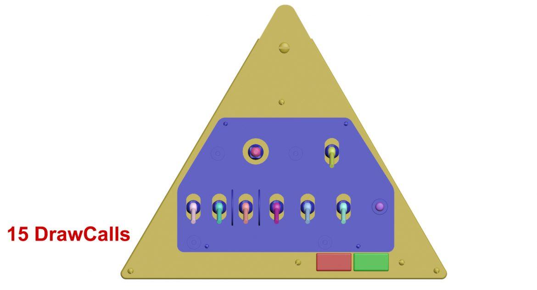 mi-8mt mi-17mt left triangular board russian 3d model 3ds max fbx obj 299375