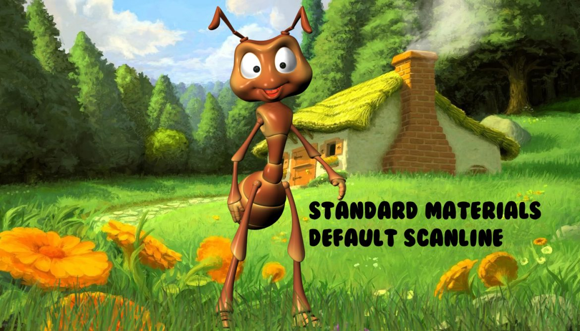 cartoon ant rigged 3d model 3ds max fbx  obj 299546