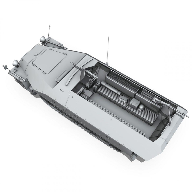 sd.kfz 251/1 ausf.d – hanomag half-truck 3d model 3ds fbx c4d lwo obj 299563