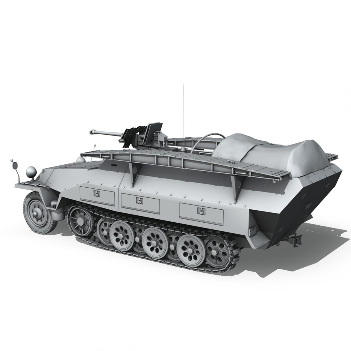 sd.kfz 251/7 ausf.d – assault engineer vehicle 3d model 3ds fbx c4d lwo obj 299575