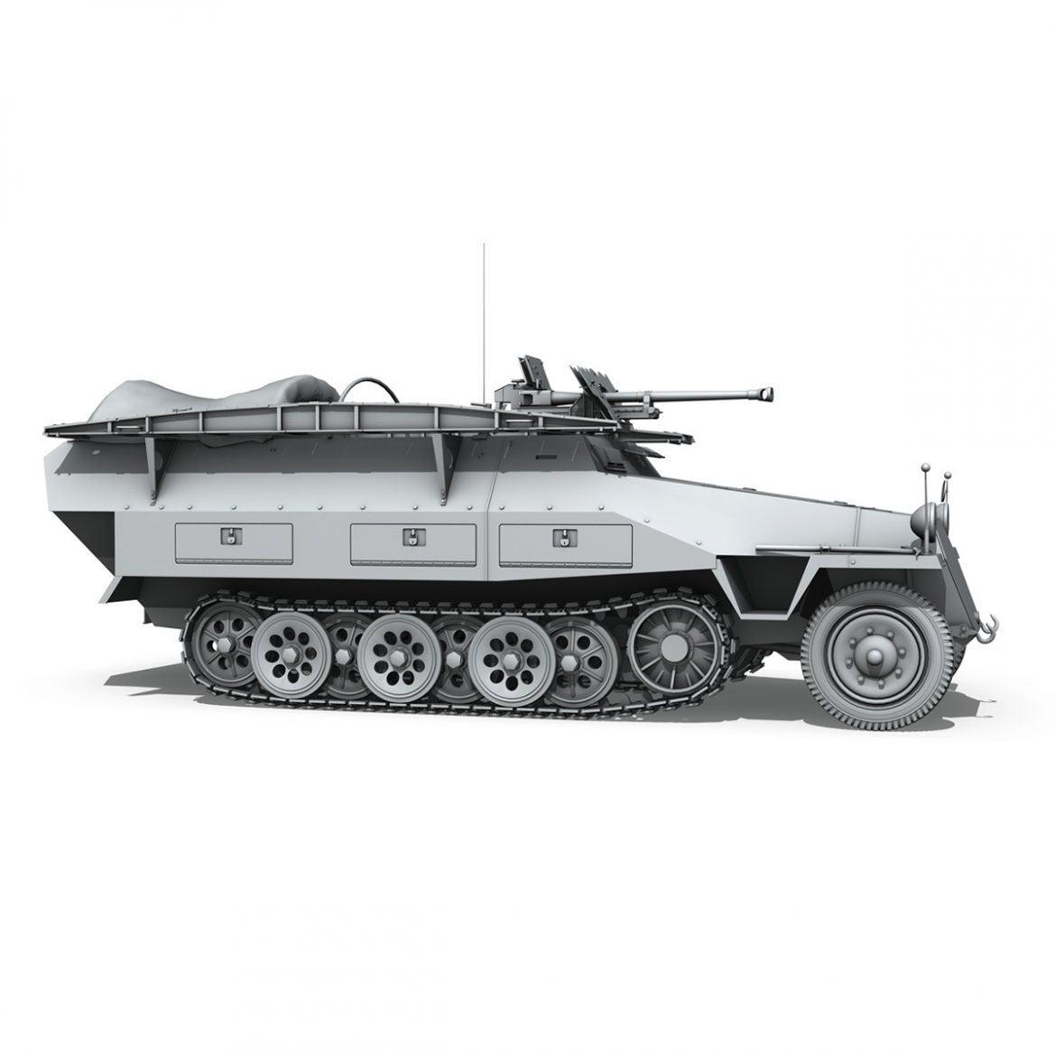 sd.kfz 251/7 ausf.d – assault engineer vehicle 3d model 3ds fbx c4d lwo obj 299578