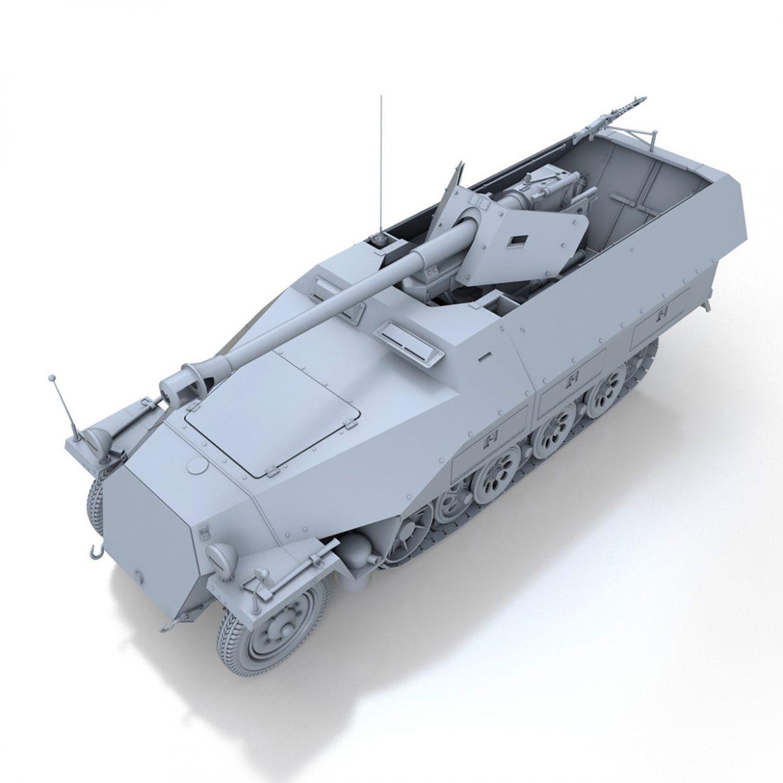 sd.kfz 251/22 – ausf.d – pakwagen 3d model 3ds fbx c4d lwo obj 299594