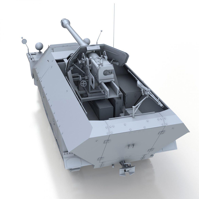 sd.kfz 251/22 – ausf.d – pakwagen 3d model 3ds fbx c4d lwo obj 299596