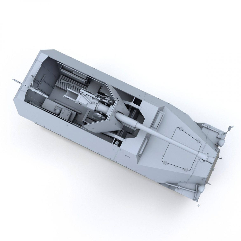 sd.kfz 251/22 – ausf.d – pakwagen 3d model 3ds fbx c4d lwo obj 299602