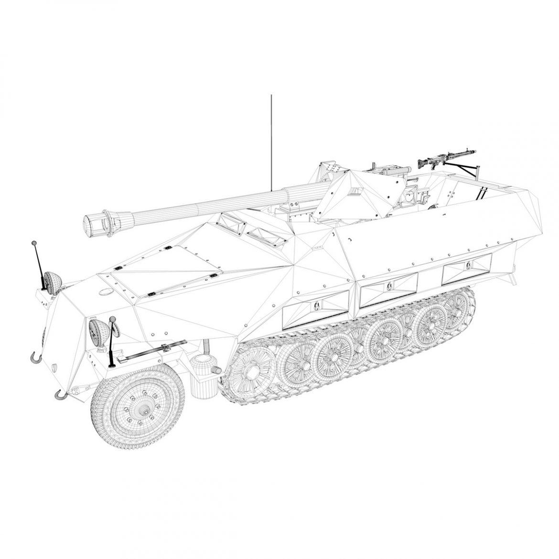 sd.kfz 251/22 – ausf.d – pakwagen 3d model 3ds fbx c4d lwo obj 299605