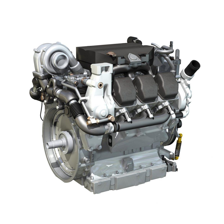 diesel turbo – 6-cylinder engine 3d model 3ds fbx c4d lwo obj 299639