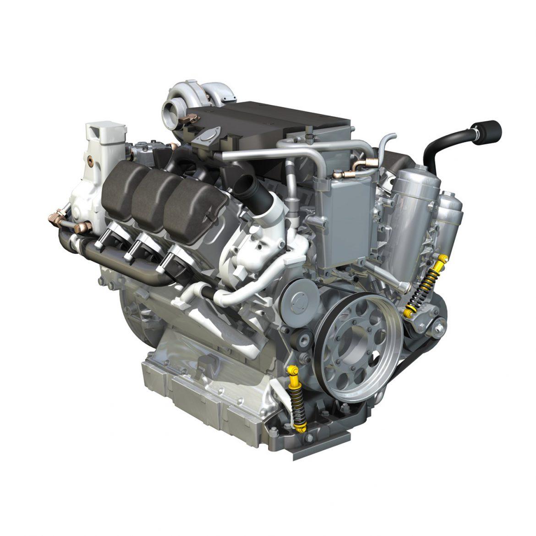 diesel turbo – 6-cylinder engine 3d model 3ds fbx c4d lwo obj 299640